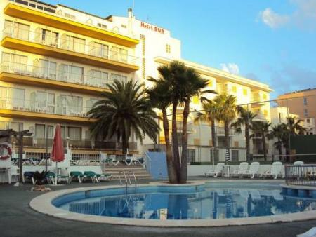 Swimming pool Hotel Sur