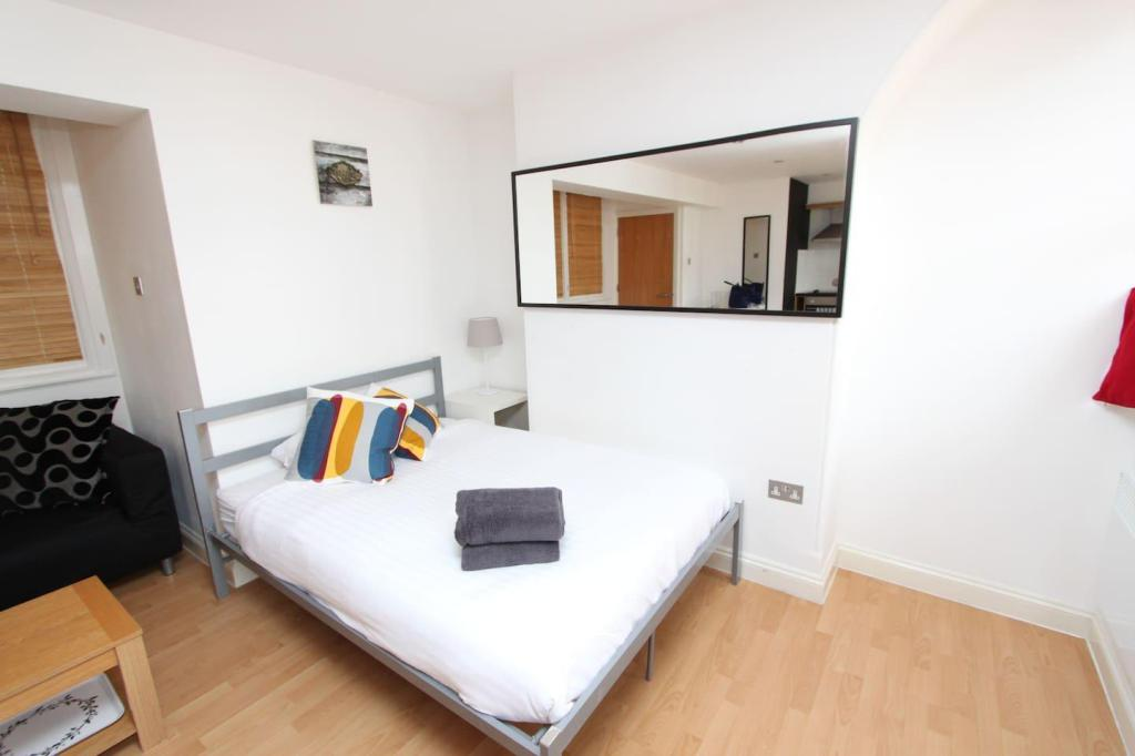 숙소 내부 Convenient double bed studio, Bristol City Centre