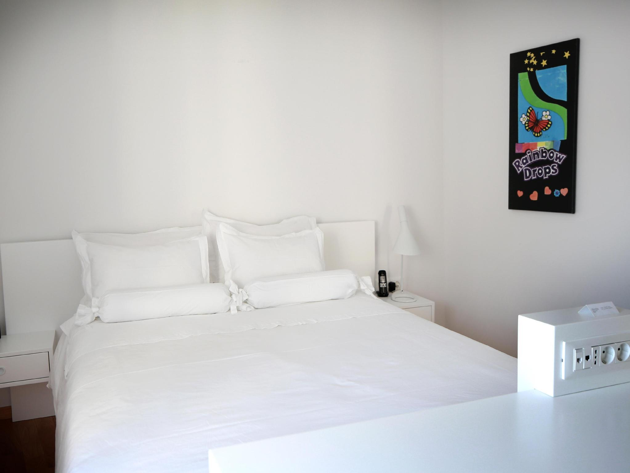 Quarto Duplo Pequeno com varanda (Small Double Room with Balcony)