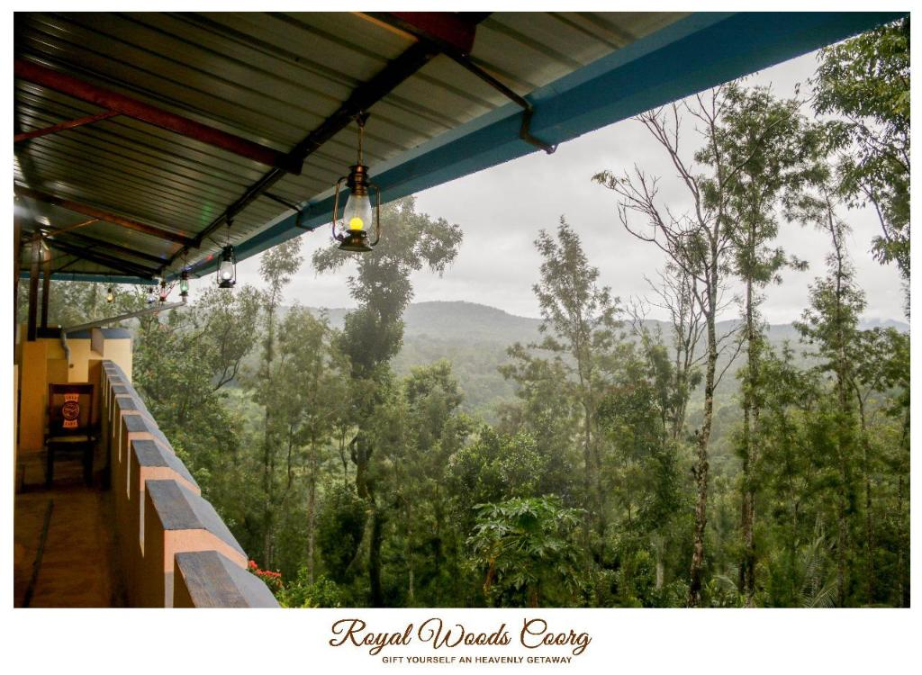 Balcony Royal Woods Coorg
