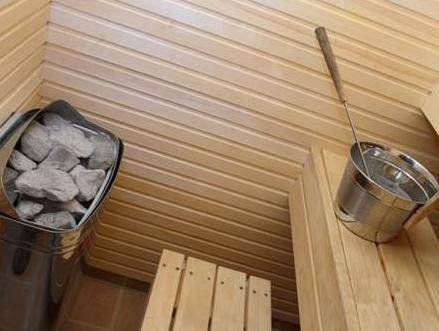 Superior Twin or Double Room with Sauna