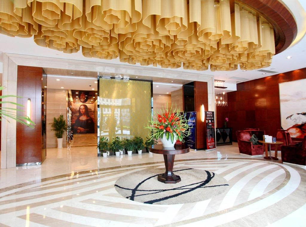Лоби The Cumberland Boutique Hotel Nanjing