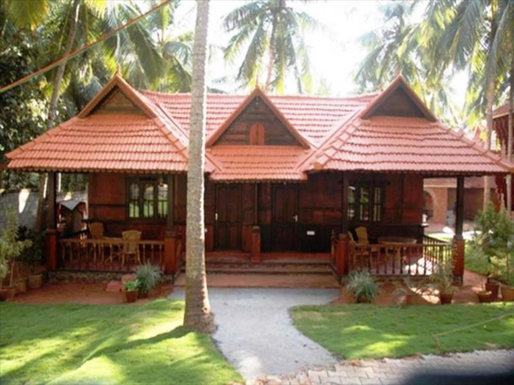 God 39 s own country ayurveda resorts agoda for Konkan home designs