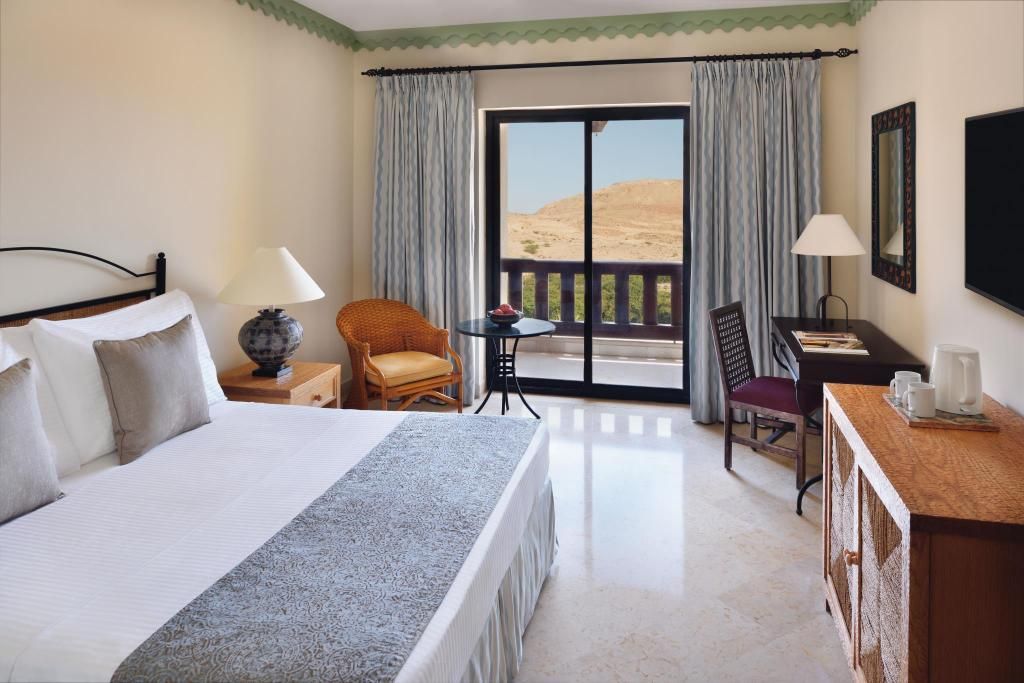 Classic Kingsize - Uitzicht Movenpick Resort & Spa Dead Sea