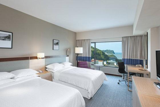 Premium Seaview Twin Bed, Smaller Guest room, Sea view