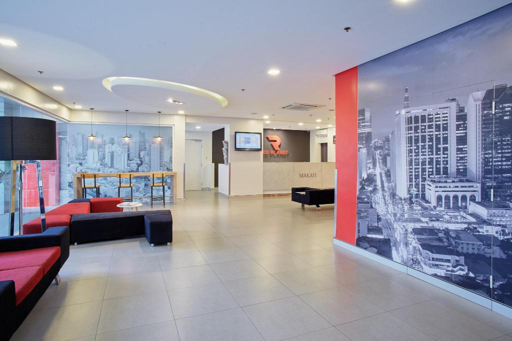 Interior view Red Planet Makati