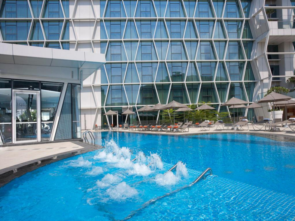 Swimming pool Capri by Fraser - Changi City