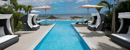 Swimming pool [outdoor] Plage Bleue Beachfront Apartments