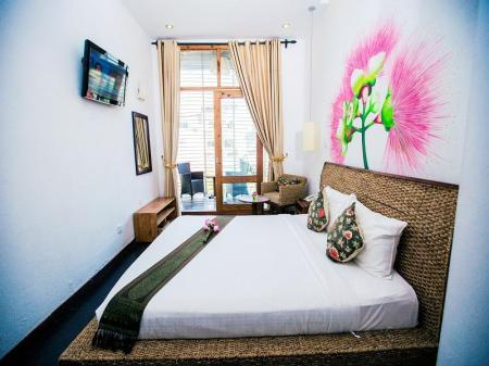Deluxe Double Balcony - Guestroom Monsoon Boutique Hotel and Spa