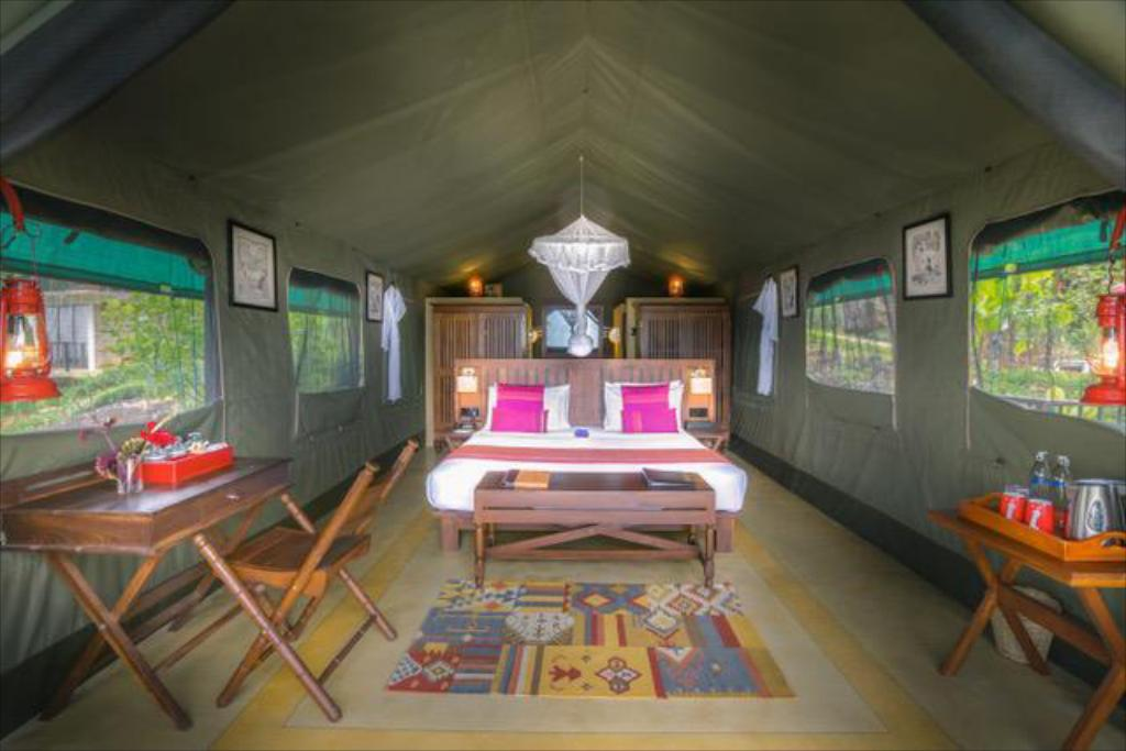 Tent (2 Adults)  - Bed Madulkelle Tea and Eco Lodge