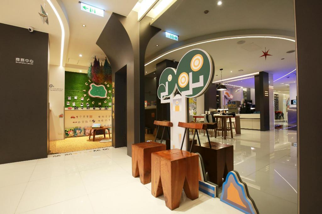 Lobby CityInn Plus Taichung Station Branch