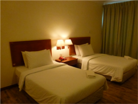 Deluxe Twin Bed King Ing Hotel