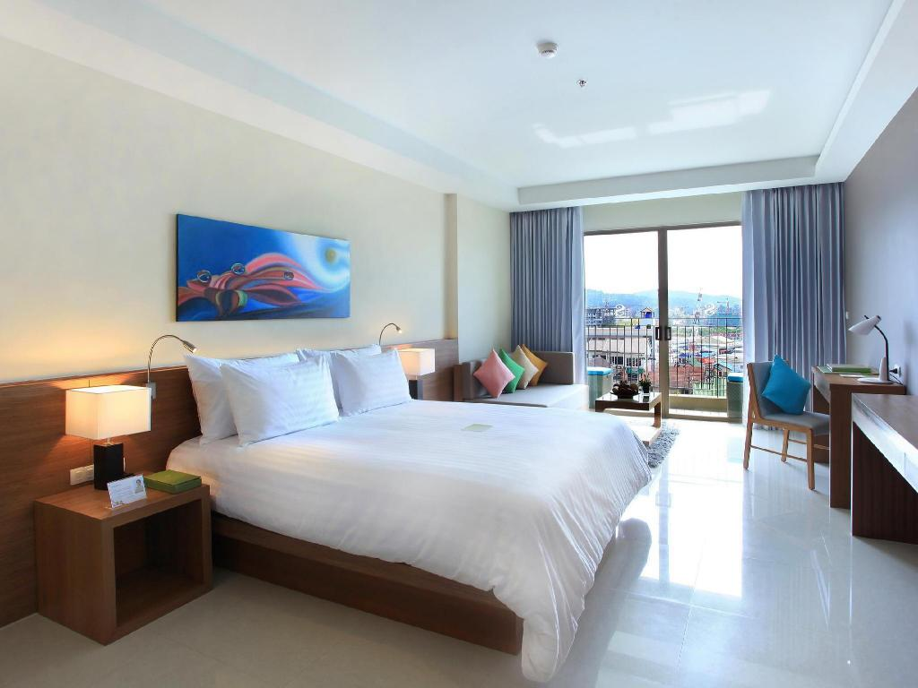 Deluxe-Zimmer mit Balkon The Senses Resort & Pool Villas Phuket