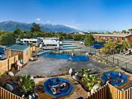 Piscina Alpine Pacific Holiday Park