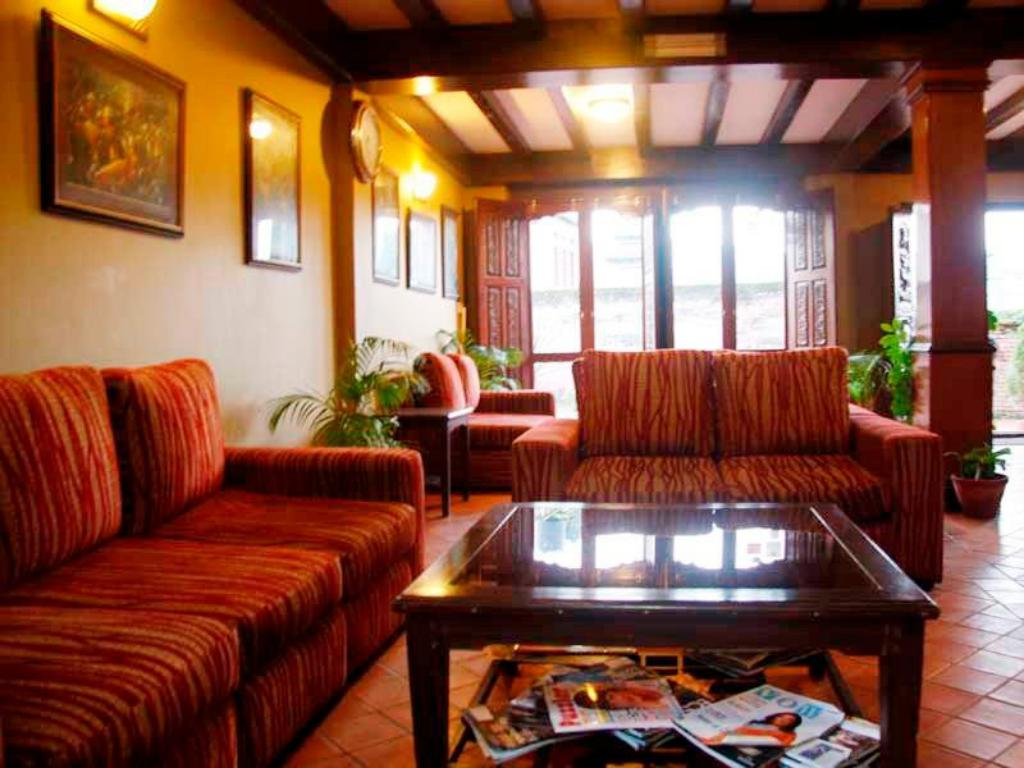 Interior view Vajra Guest House
