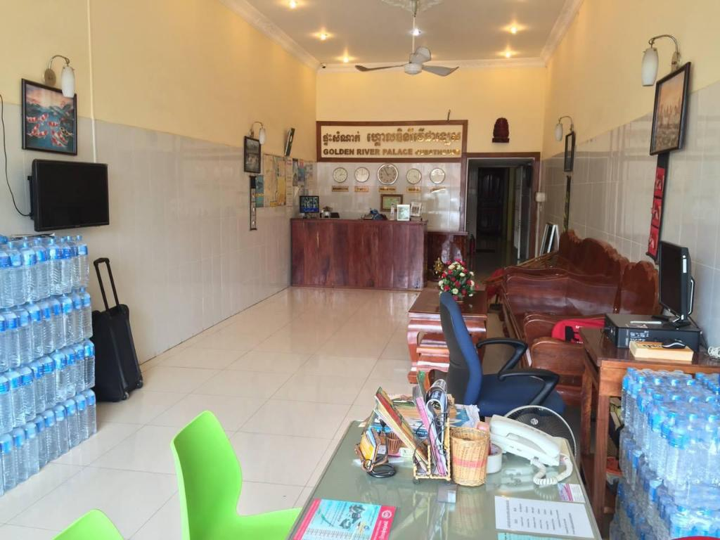 Hotellet indefra Golden River Palace Guesthouse