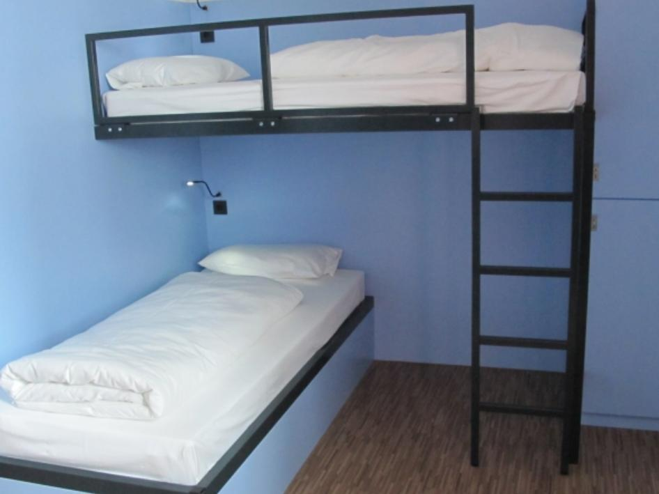 1 Letto in Dormitorio con 6 Letti (1 Bed in a 6-Bed Room)