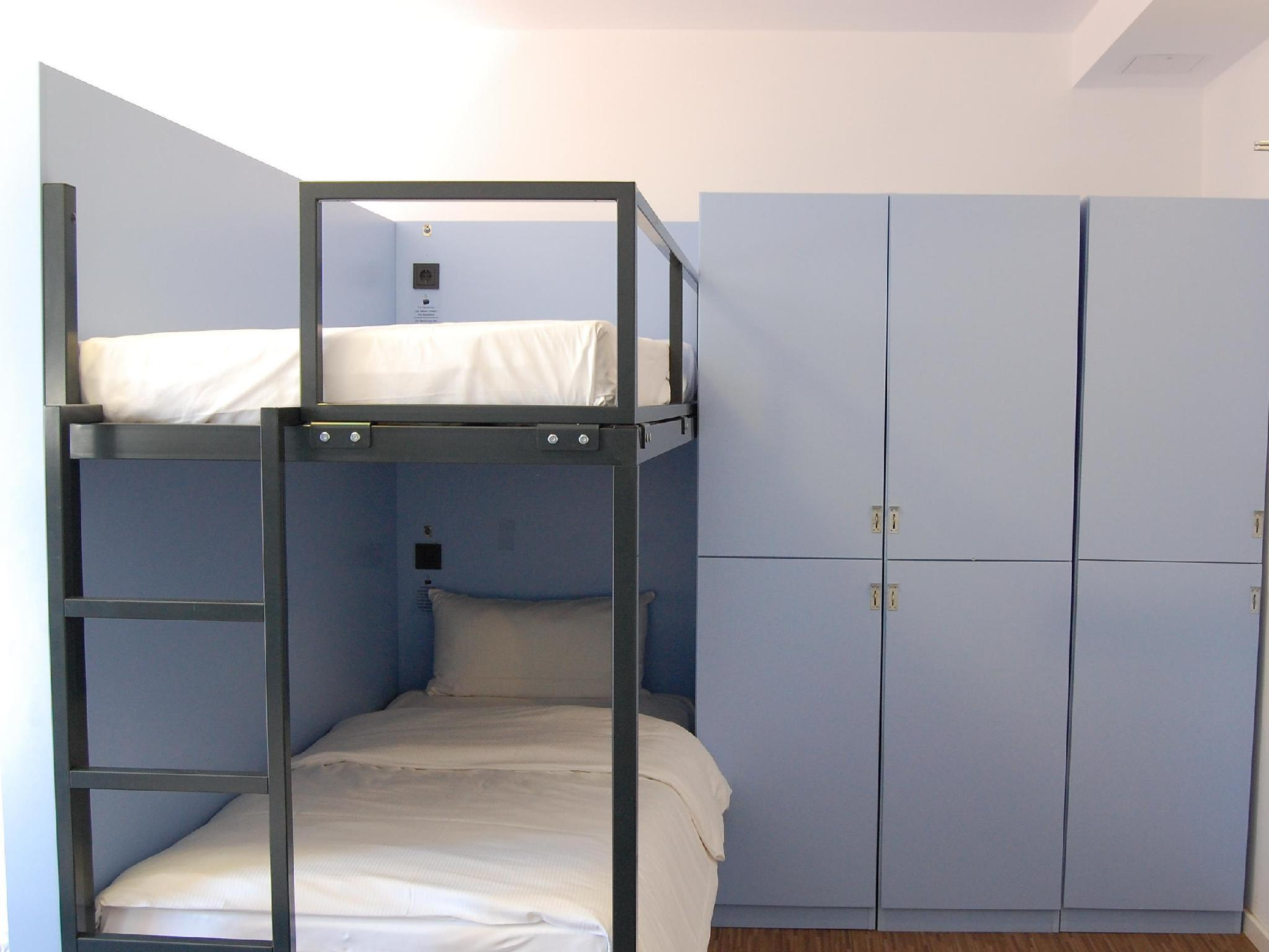 1 Letto in Dormitorio con 6 Letti con Bagno in Camera (1 Bed in a 6 Bed-Room (En-Suite))