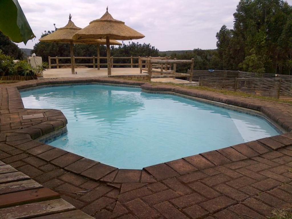 Swimming pool Tsanana Log Cabins and Mullberry Lane Suites