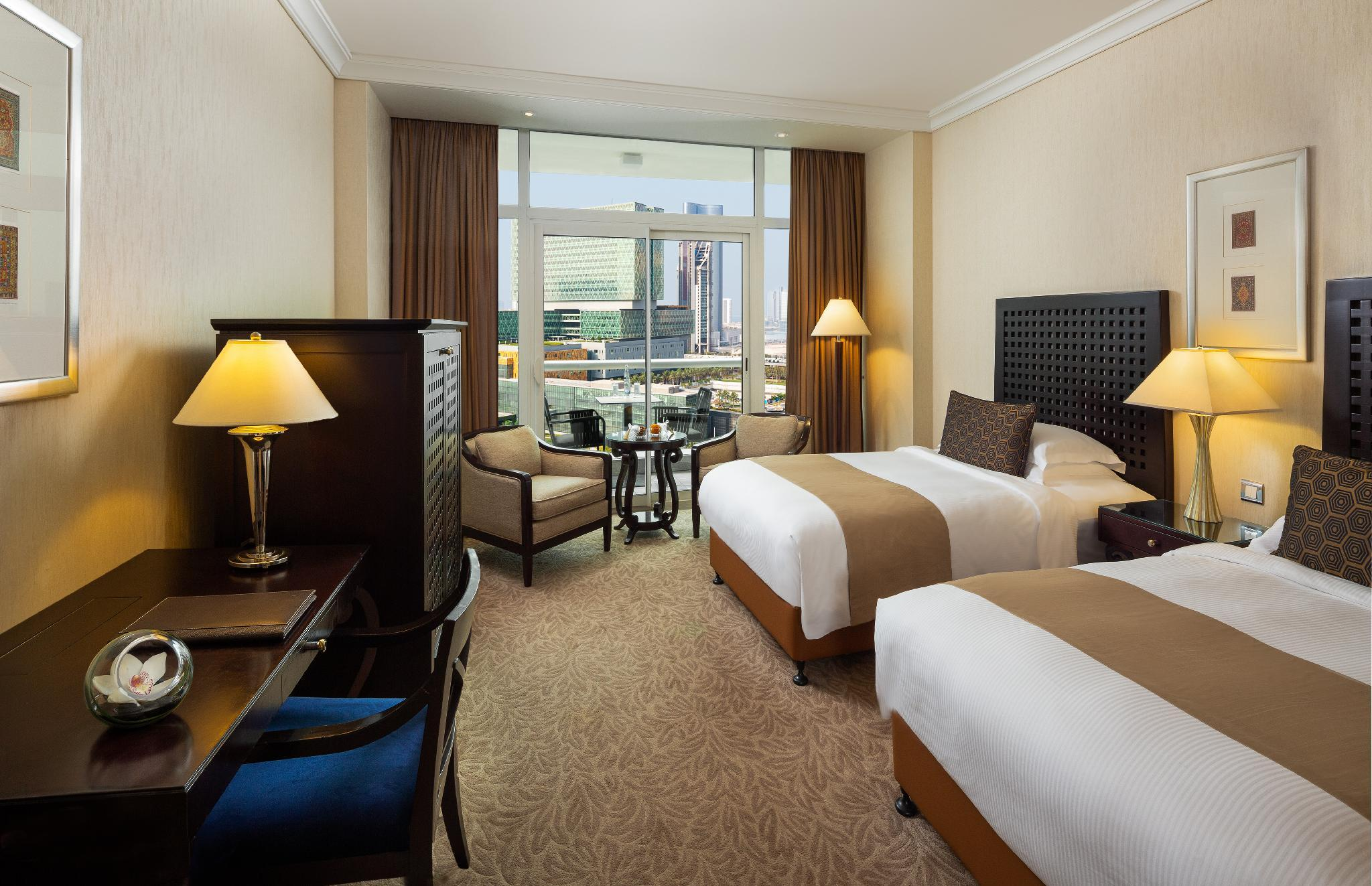 Club Rotana Kamer Tweepersoons met 2 aparte bedden (Club Rotana Twin Bed Room)
