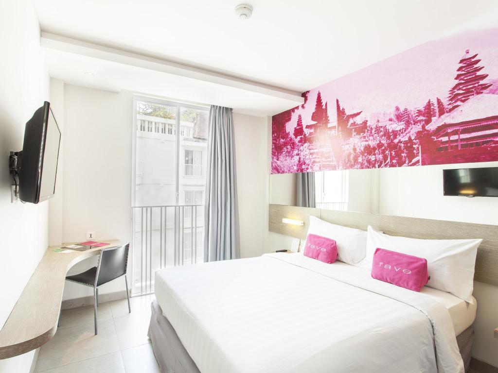 Standard Room - Bed favehotel Kuta Square