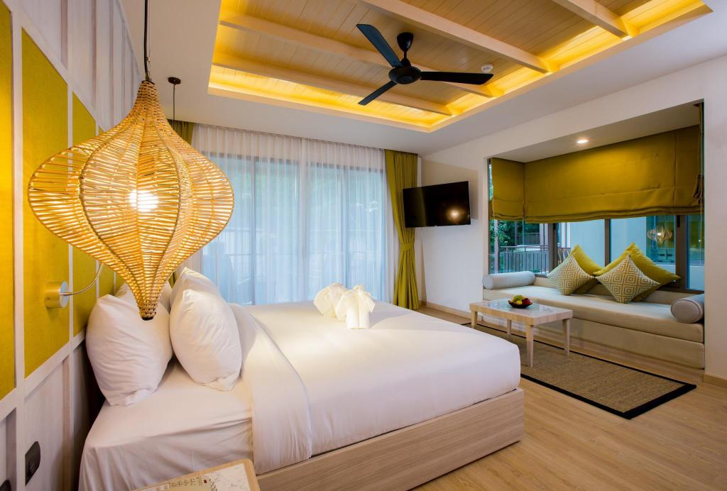 Deluxe - Huone Mandarava Resort and Spa Karon Beach