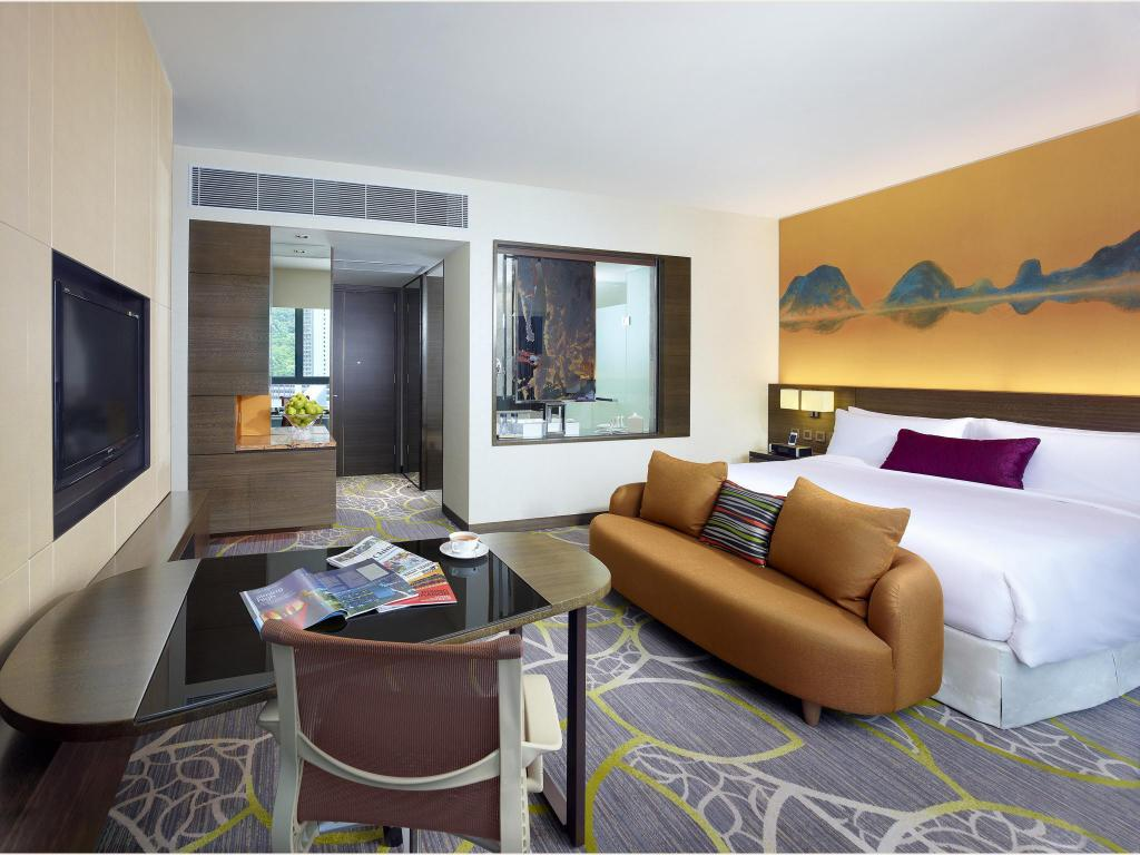 Deluxe King Bed - Guestroom Crowne Plaza Hong Kong Kowloon East