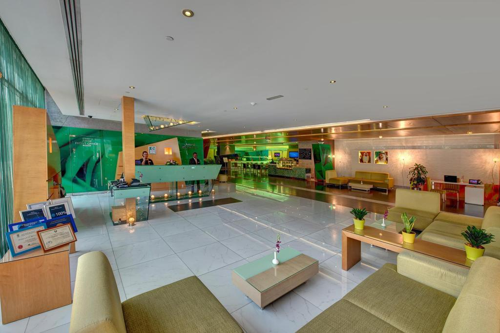 Lobby Al Khoory Executive Hotel - Al Wasl