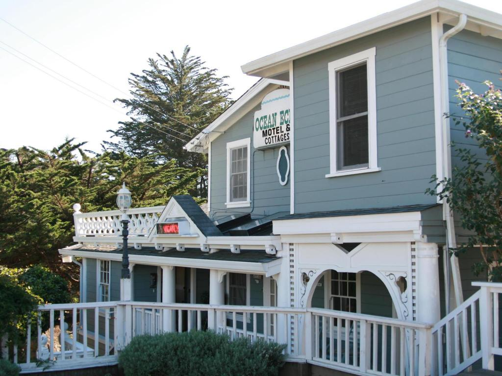 Ocean Echo Inn Beach Cottages Santa Cruz Ca