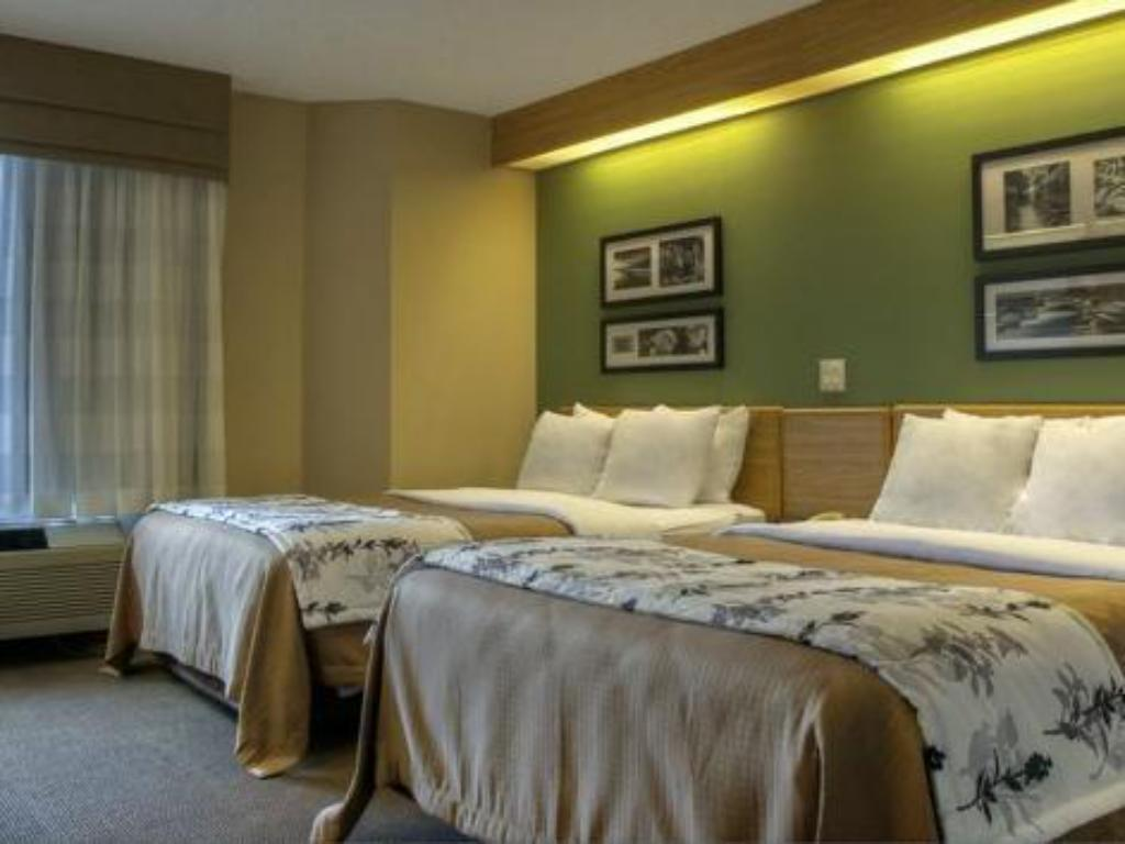 Double Room with Two Double Beds - Smoking Sleep Inn & Suites Kingsport TriCities Airport