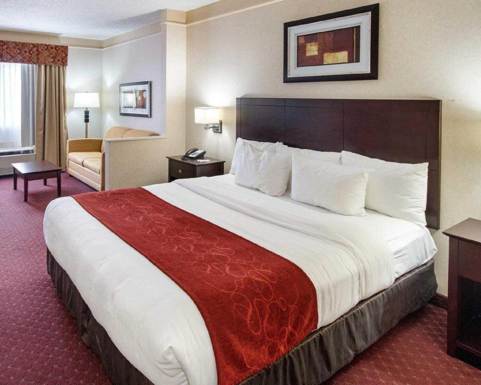 1 King Bed Suite, Non-Smoking - Guestroom Comfort Suites Parkersburg South Mineral Wells