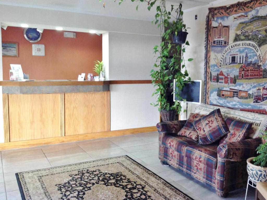 Lobby Americas Best Value Inn Belleville