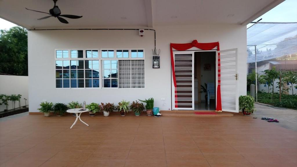 ทางเข้า Tangkak Greenville HomeStay