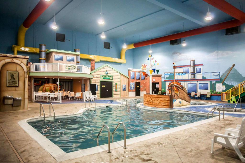 Best Price On Sleep Inn Suites And Indoor Water Park In Liberty Mo Reviews