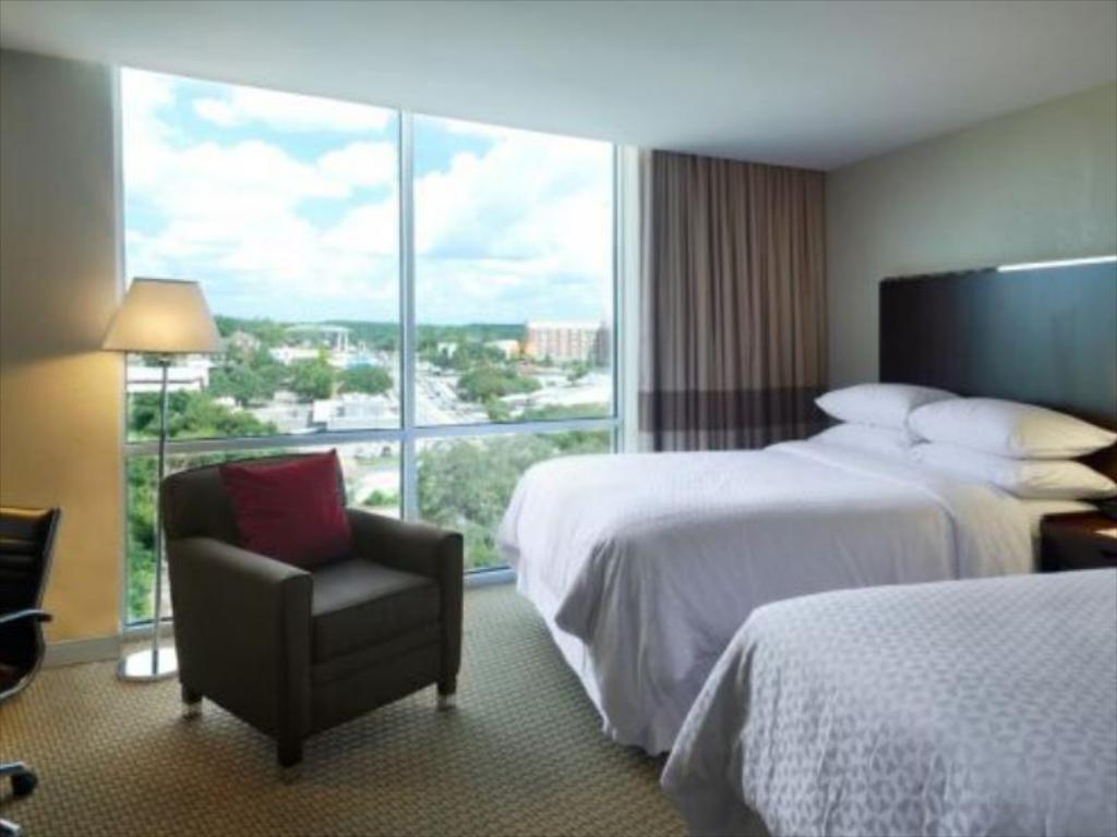 Traditional Two Double Beds Four Points by Sheraton Tallahassee Downtown