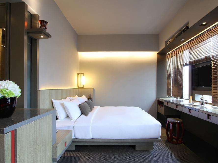 Kamar Premium (Satu Ranjang Queen saja) (Premium Room (One Queen Bed Only))