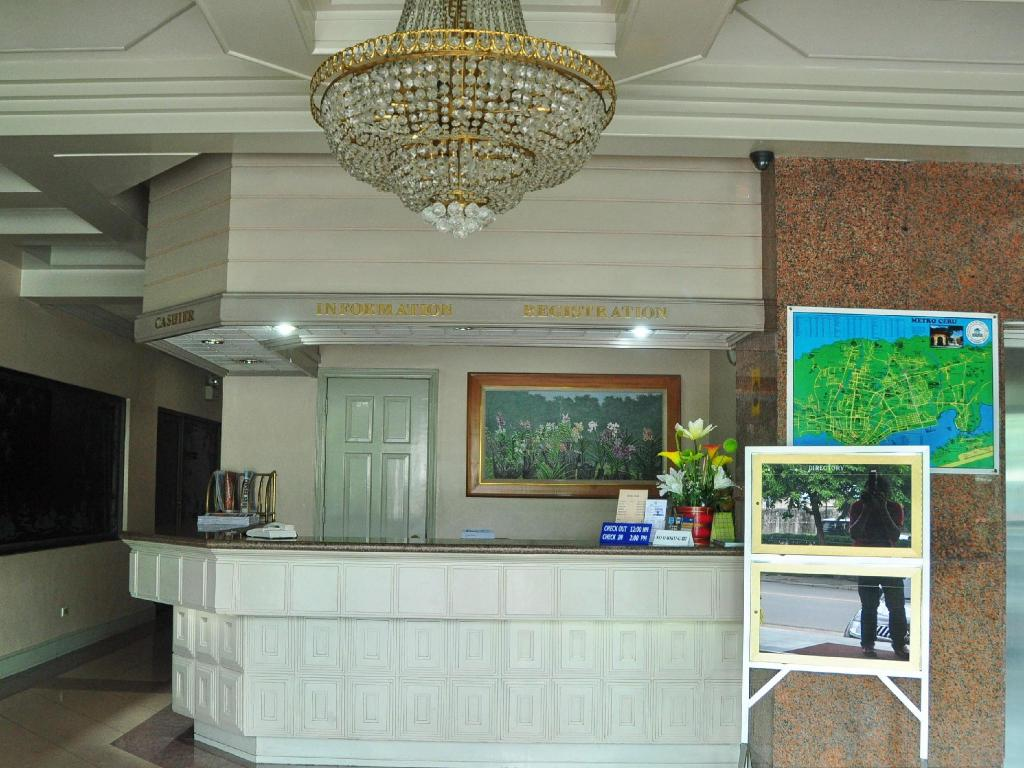 Hotellet indefra Cebu Northwinds Hotel