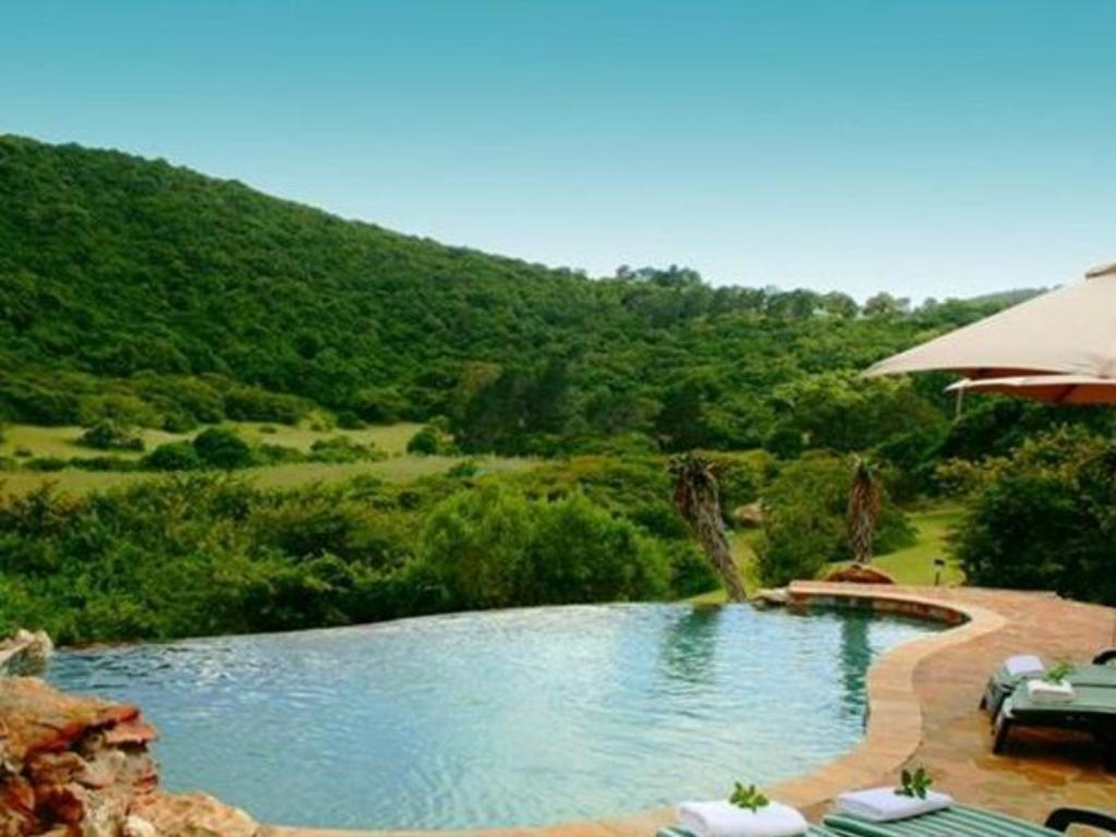 Uszoda Thunzi Bush Lodge