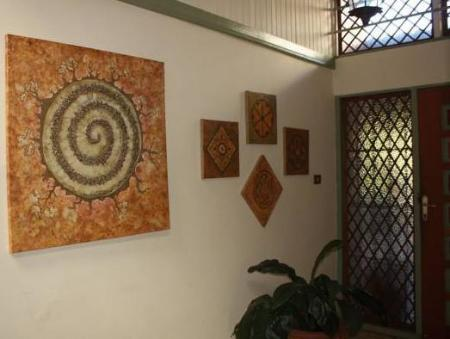 Interior view Tierra Magica B&B and Art Studio