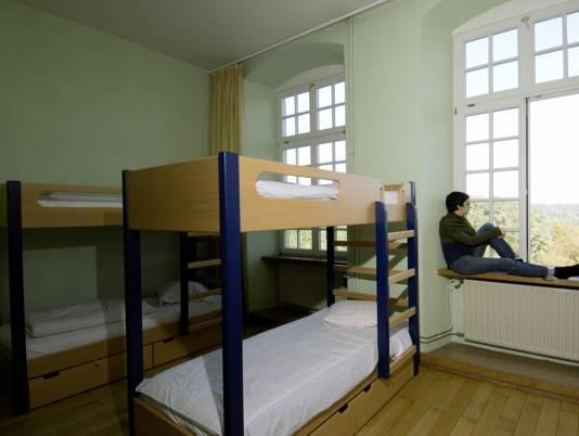 Letto a Castello in Dormitorio Maschile (Bunk Bed in Male Dormitory Room)