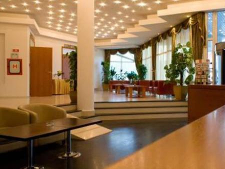 Interior view Andy Grand Hotel