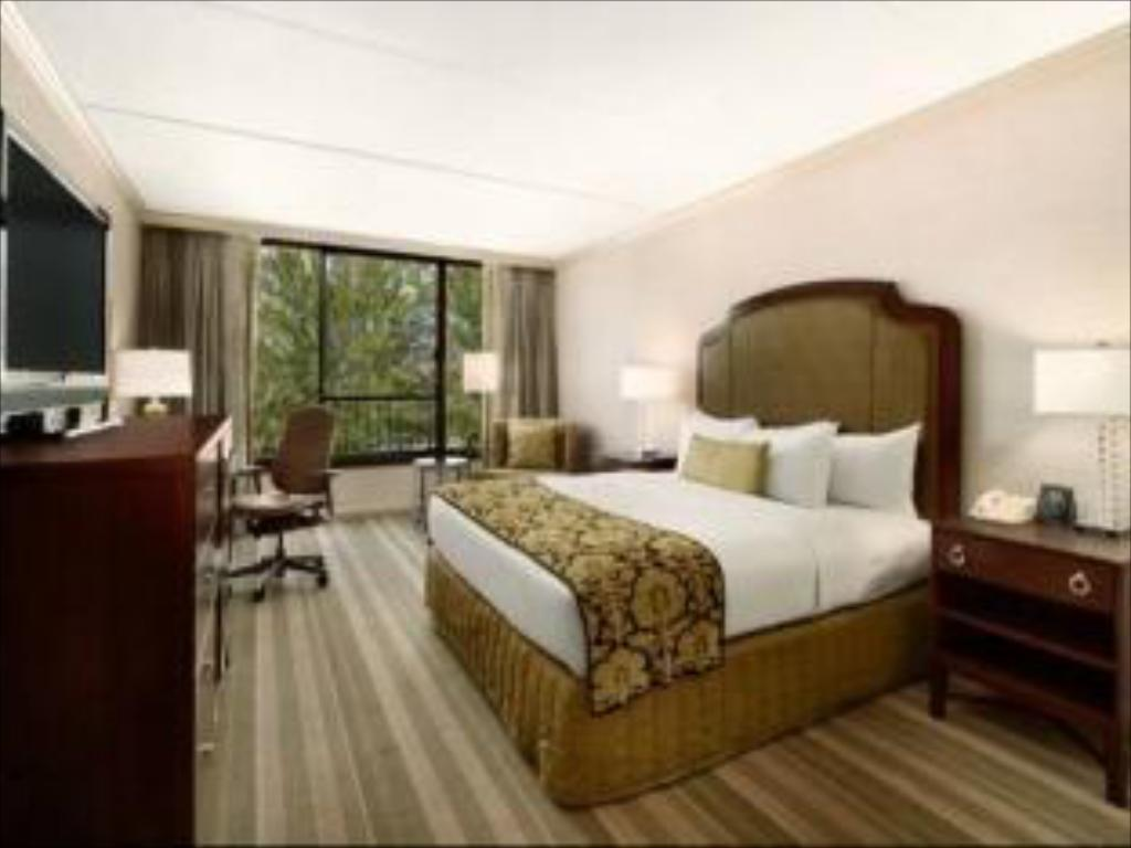 Room with King Bed and Roll-In Shower - Accessible - Bilik tetamu Hilton Westchester