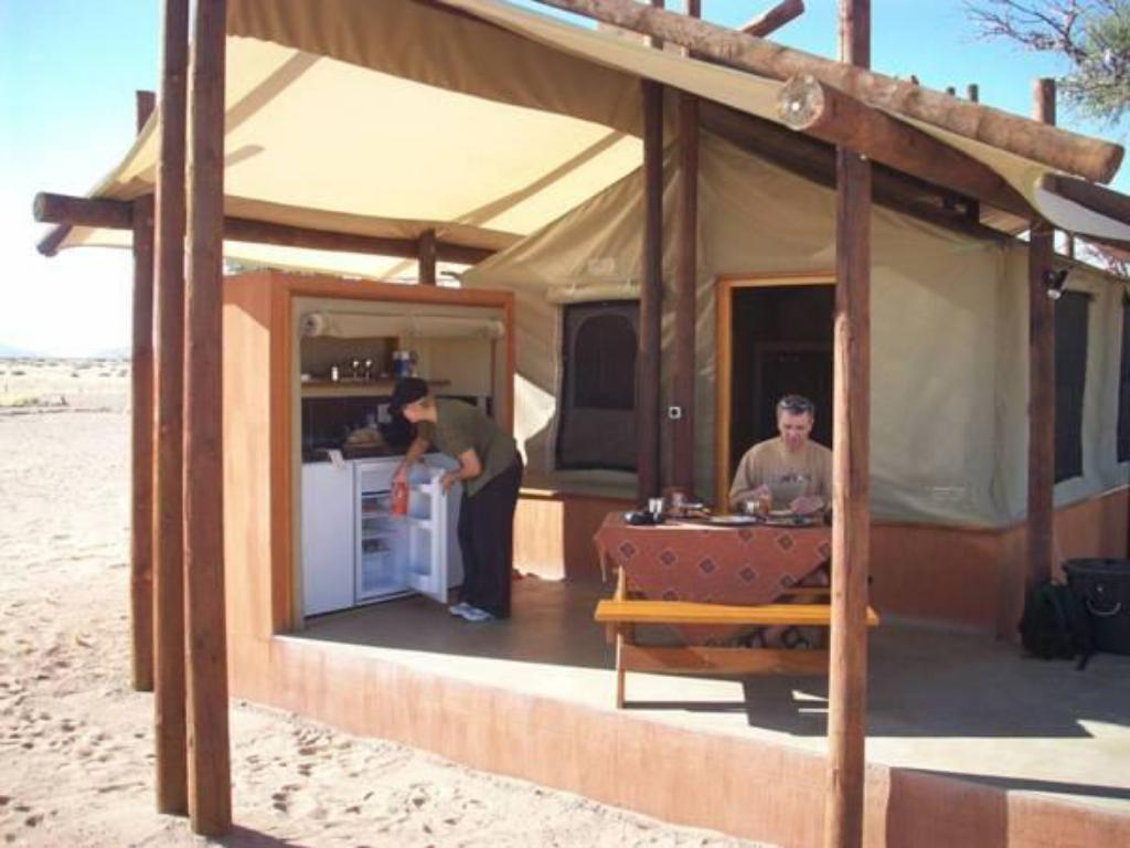 Tenda - Zona de estar exterior Desert Camp