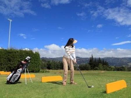 Camp de golf (a l'establiment) Estelar Paipa Hotel Spa & Y Centro De Convenciones