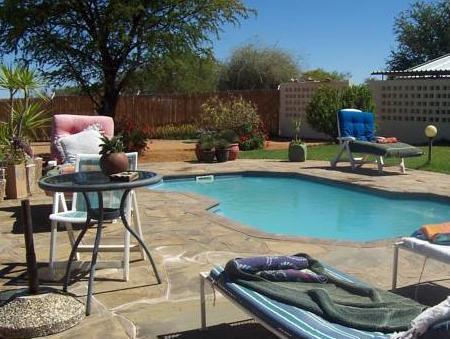 Swimming pool Etango Ranch Guest Farm Rondawels Apartment