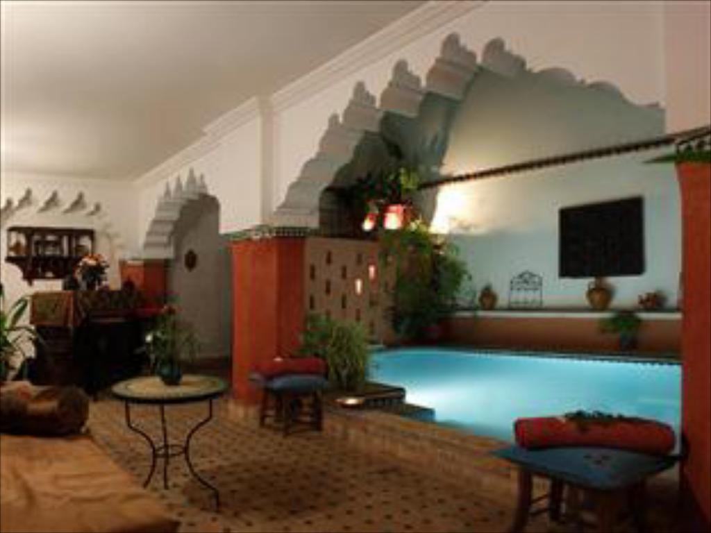 Swimming pool Riad Dar Palmyra