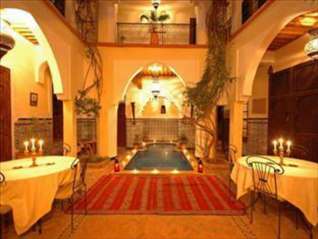 Swimming pool Riad El Sagaya