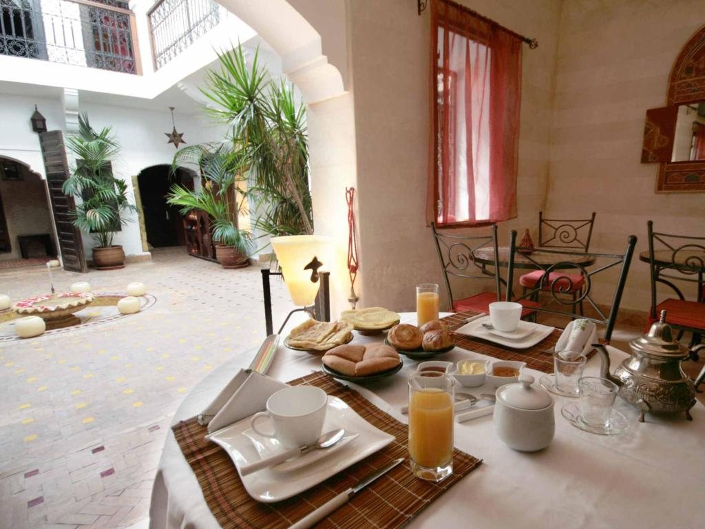 Hotellet indefra Riad Khadija Bed and Breakfast