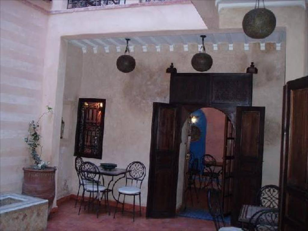 Interior view Riad Marrakiss