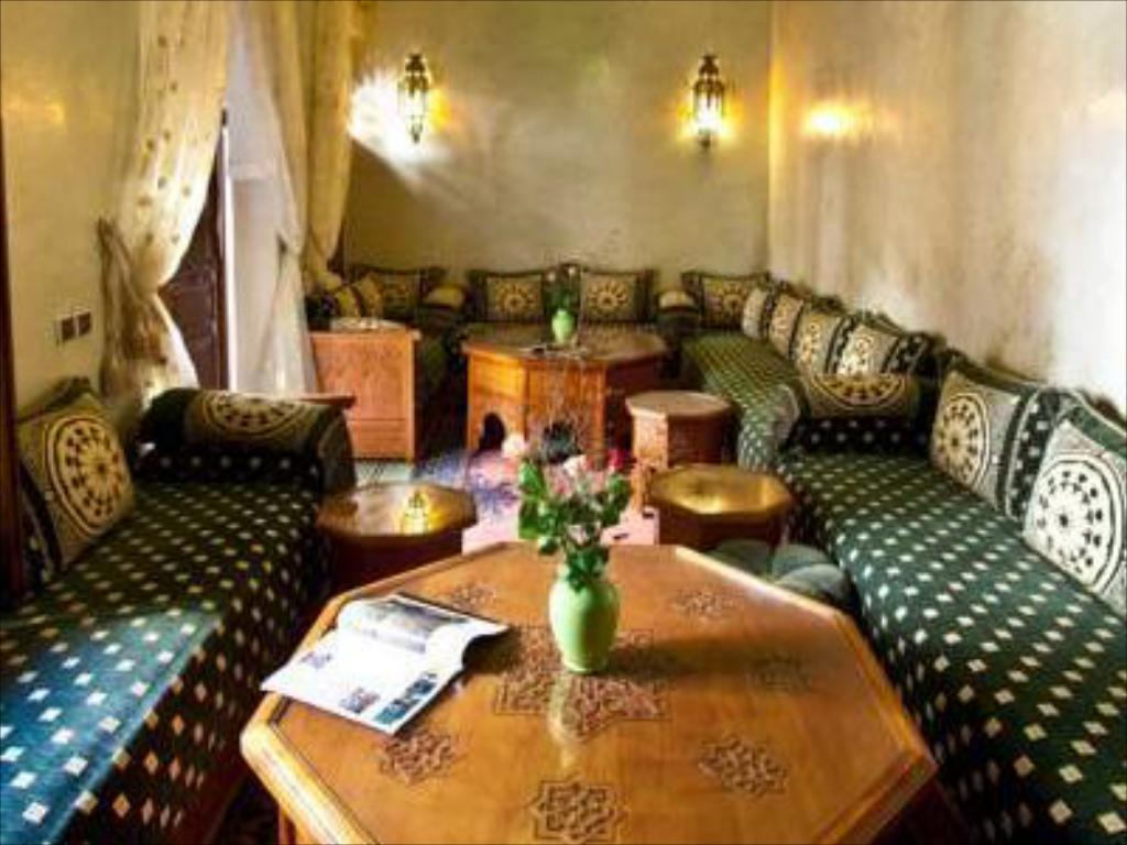 Interior view Riad Massaoud